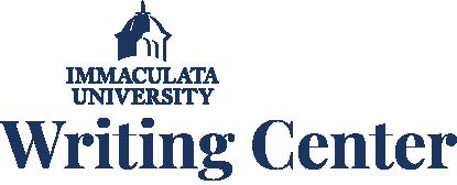 Immaculata University Writing Center Logo